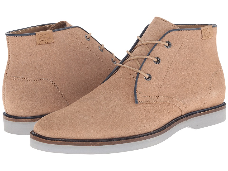 Lacoste - Sherbrooke Hi 14 (Light Tan) Men's Lace-up Boots