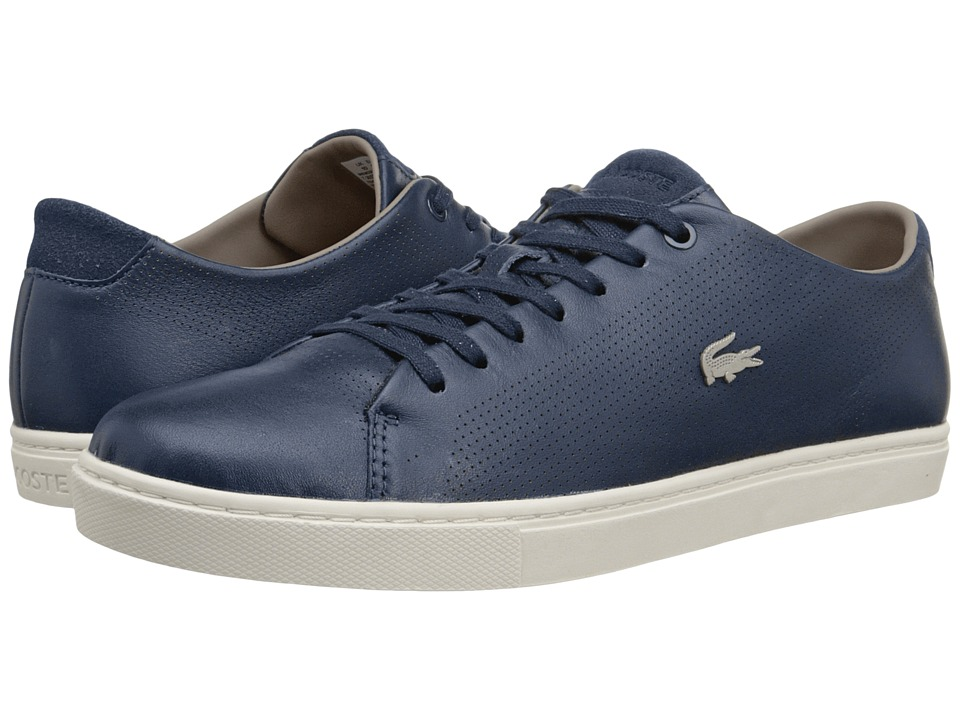 Lacoste - Showcourt (Navy) Men's Lace up casual Shoes
