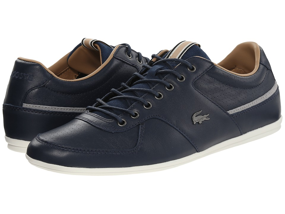 Lacoste - Taloire 17 (Navy) Men's Lace up casual Shoes