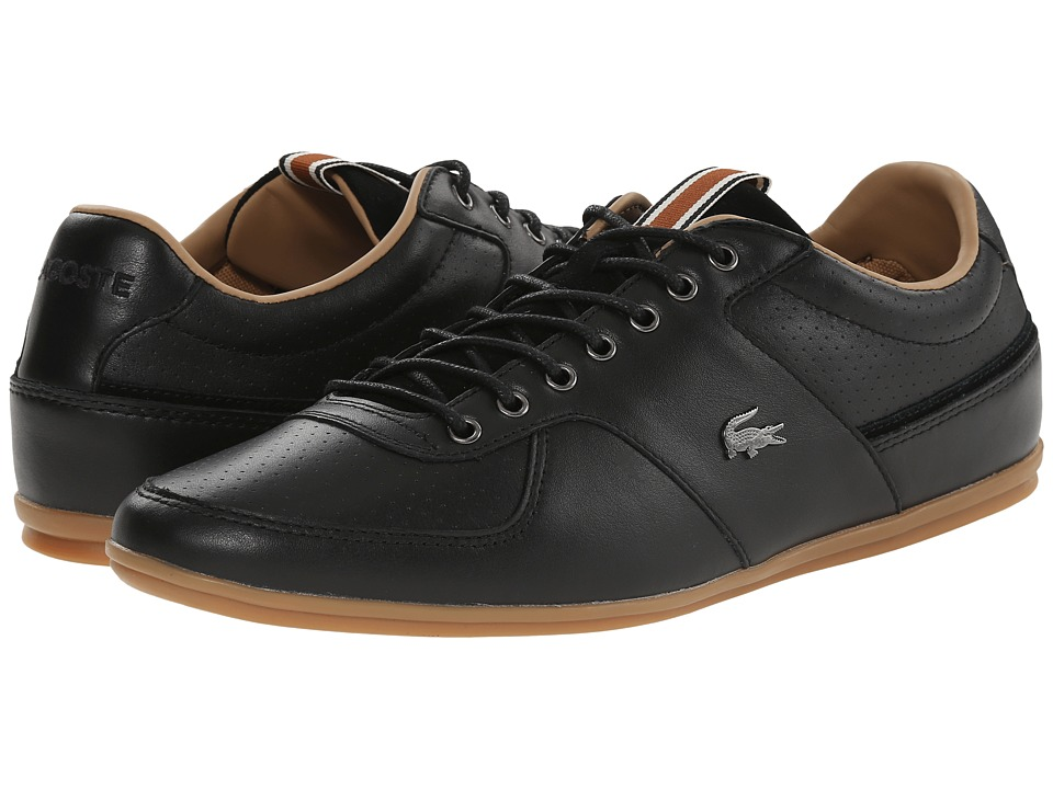Lacoste - Taloire 17 (Black) Men's Lace up casual Shoes
