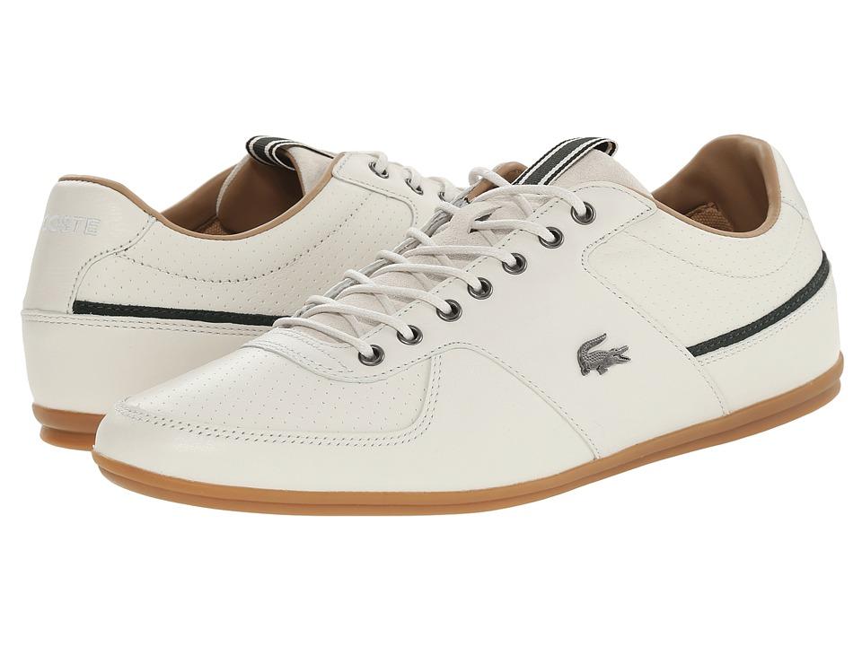 Lacoste - Taloire 17 (Off White) Men's Lace up casual Shoes