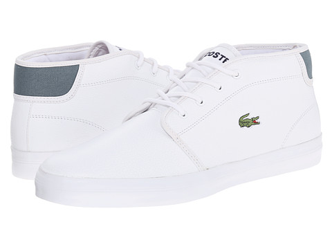 Lacoste - Ampthill Chunky Sep (White/White) Men