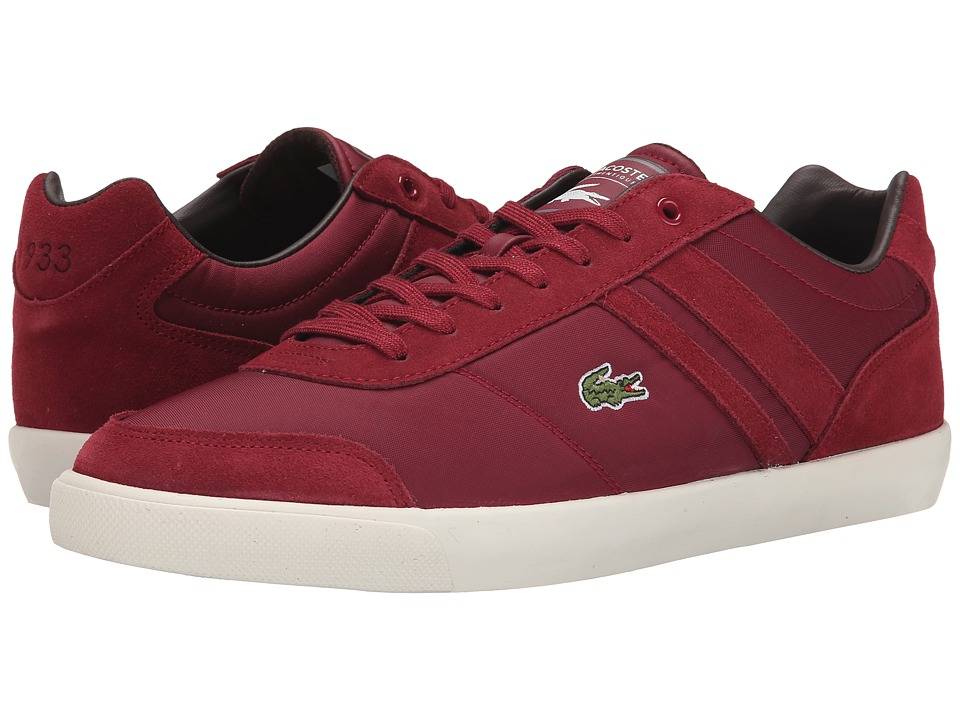 Lacoste - Comba Put (Dark Red/Dark Red) Men's Shoes