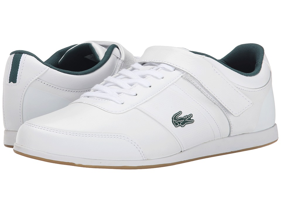 Lacoste - Embrun Rei (White/White) Men