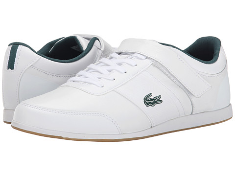 Lacoste - Embrun Rei (White/White) Men's Shoes