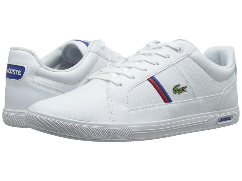 Lacoste - Europa Tcl (White/White) Men