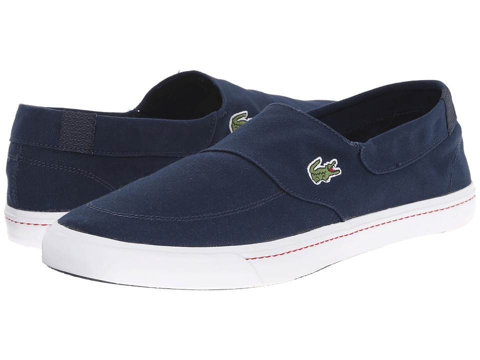 Lacoste - Havasu Vulc Vst (Dark Blue/Dark Blue) Men's Shoes