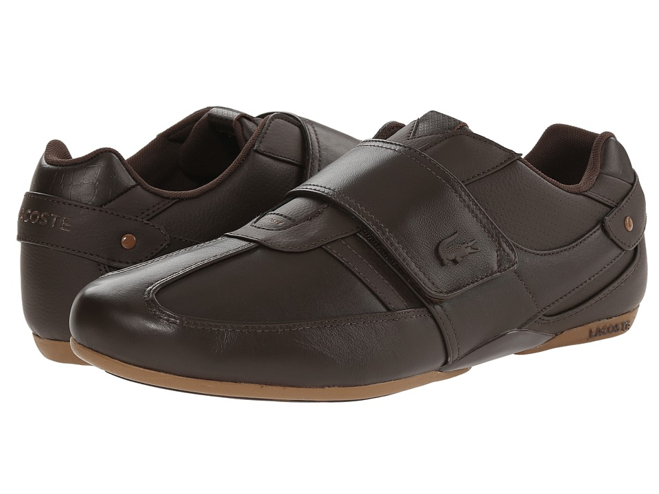 Lacoste - Protected Prm (Dark Brown/Dark Brown) Men's Shoes