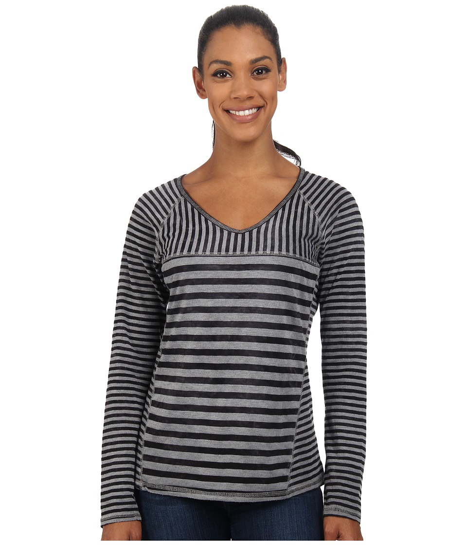 Prana - Jaime Top (Black) Women's Long Sleeve Pullover
