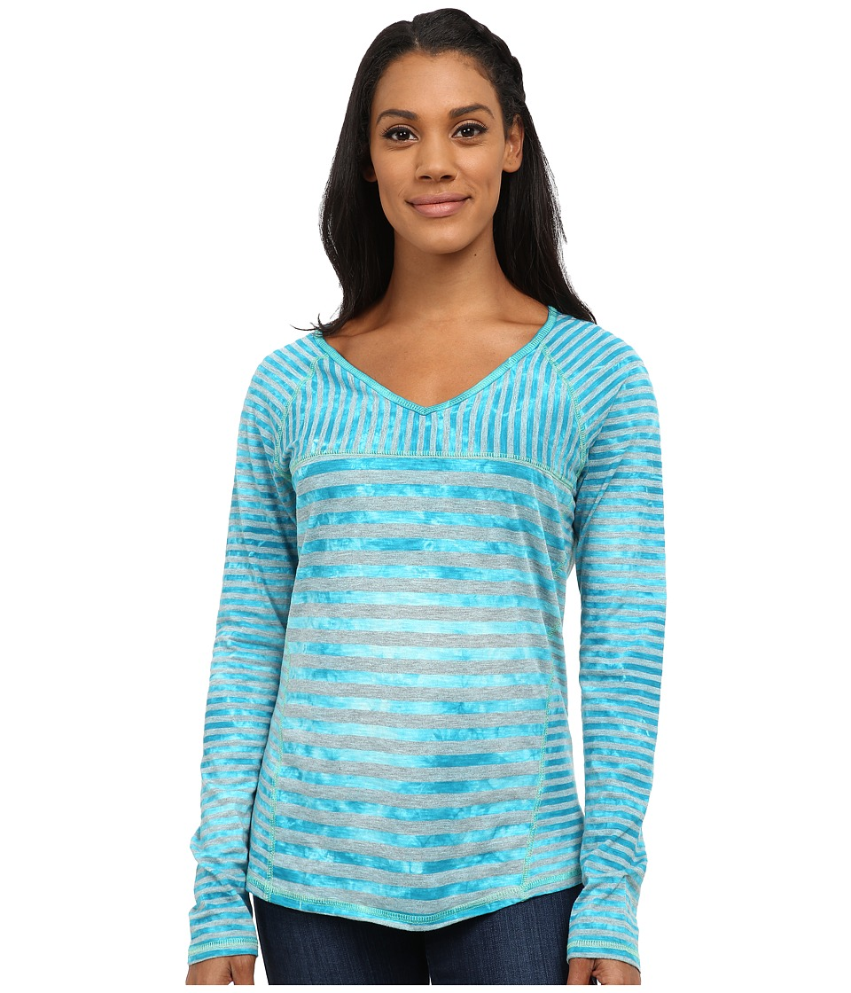 Prana - Jaime Top (Cast Blue) Women's Long Sleeve Pullover