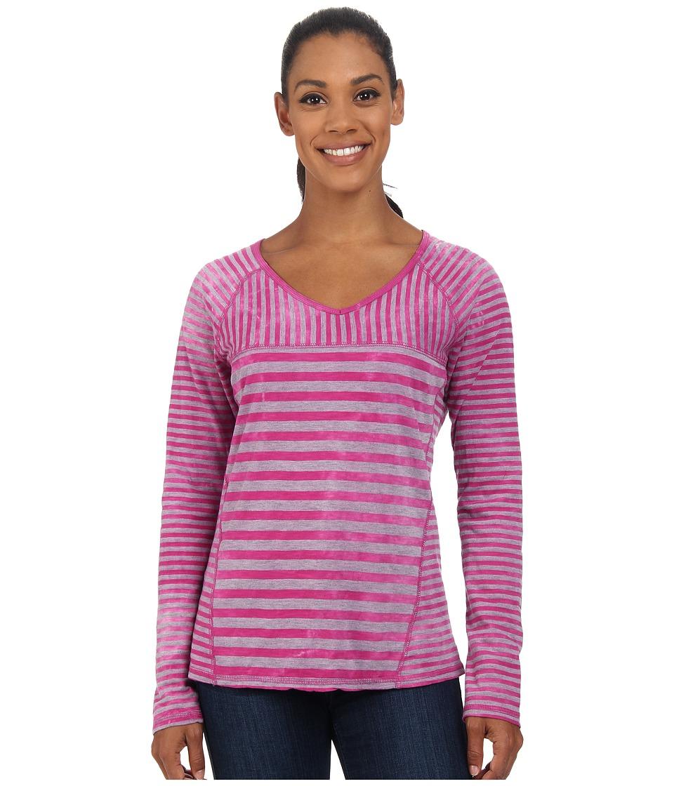 Prana - Jaime Top (Deep Fuchsia) Women's Long Sleeve Pullover