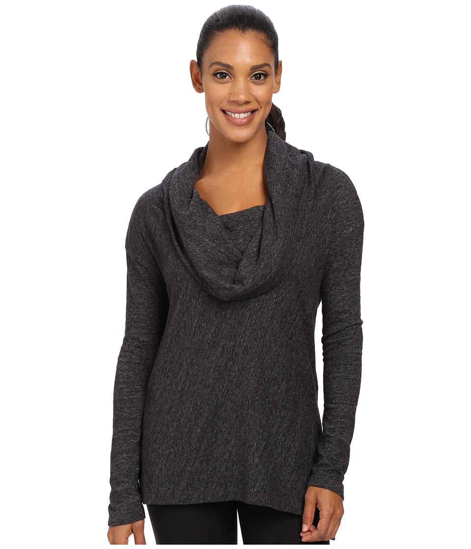 Prana - Ginger Top (Black) Women's Long Sleeve Pullover