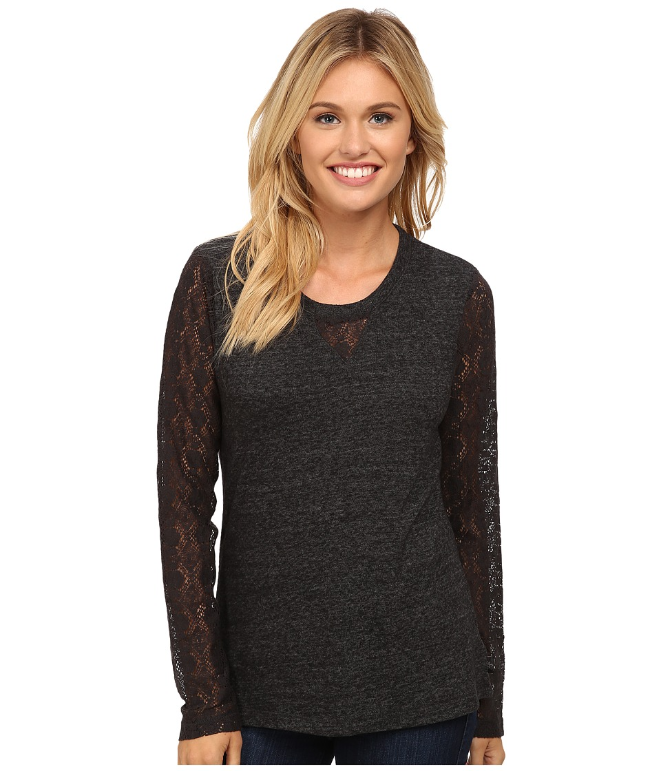 Prana - Darla Top (Black) Women's Long Sleeve Pullover
