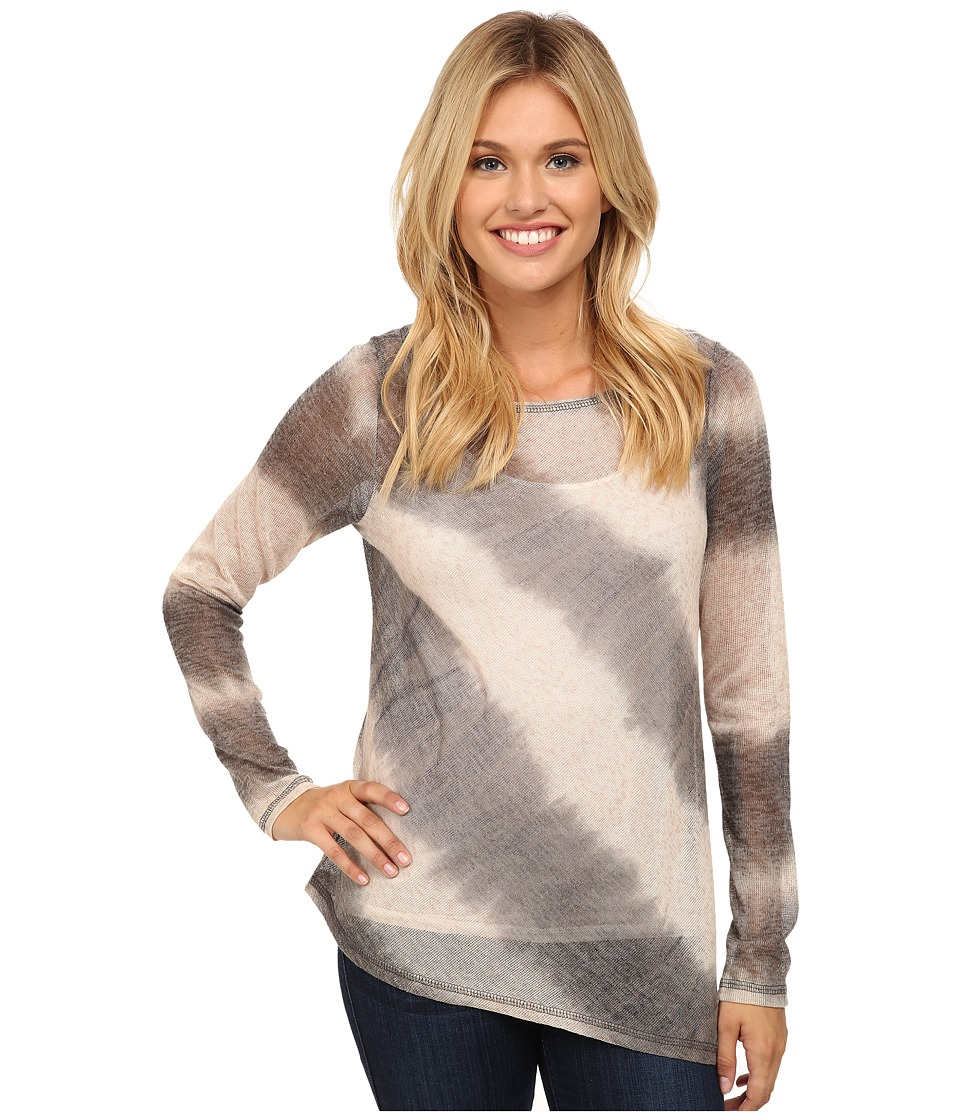Prana - Addison Top (Coal) Women's Long Sleeve Pullover
