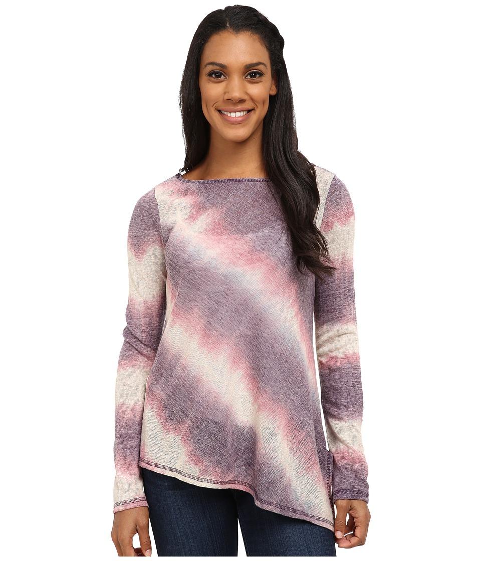 Prana - Addison Top (Purple Tart) Women's Long Sleeve Pullover