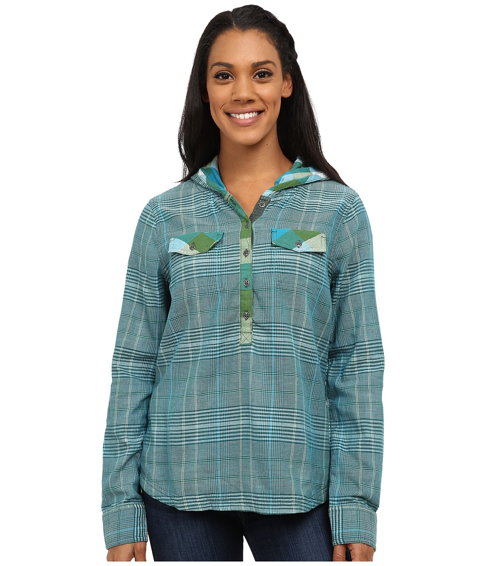 Prana - Anja Top (Evergreen) Women's Long Sleeve Pullover