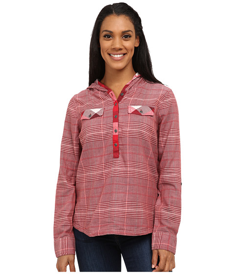 Prana - Anja Top (Raisin) Women's Long Sleeve Pullover