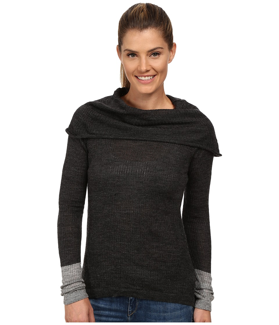 Prana - Rochelle Sweater (Black Heather) Women's Sweater