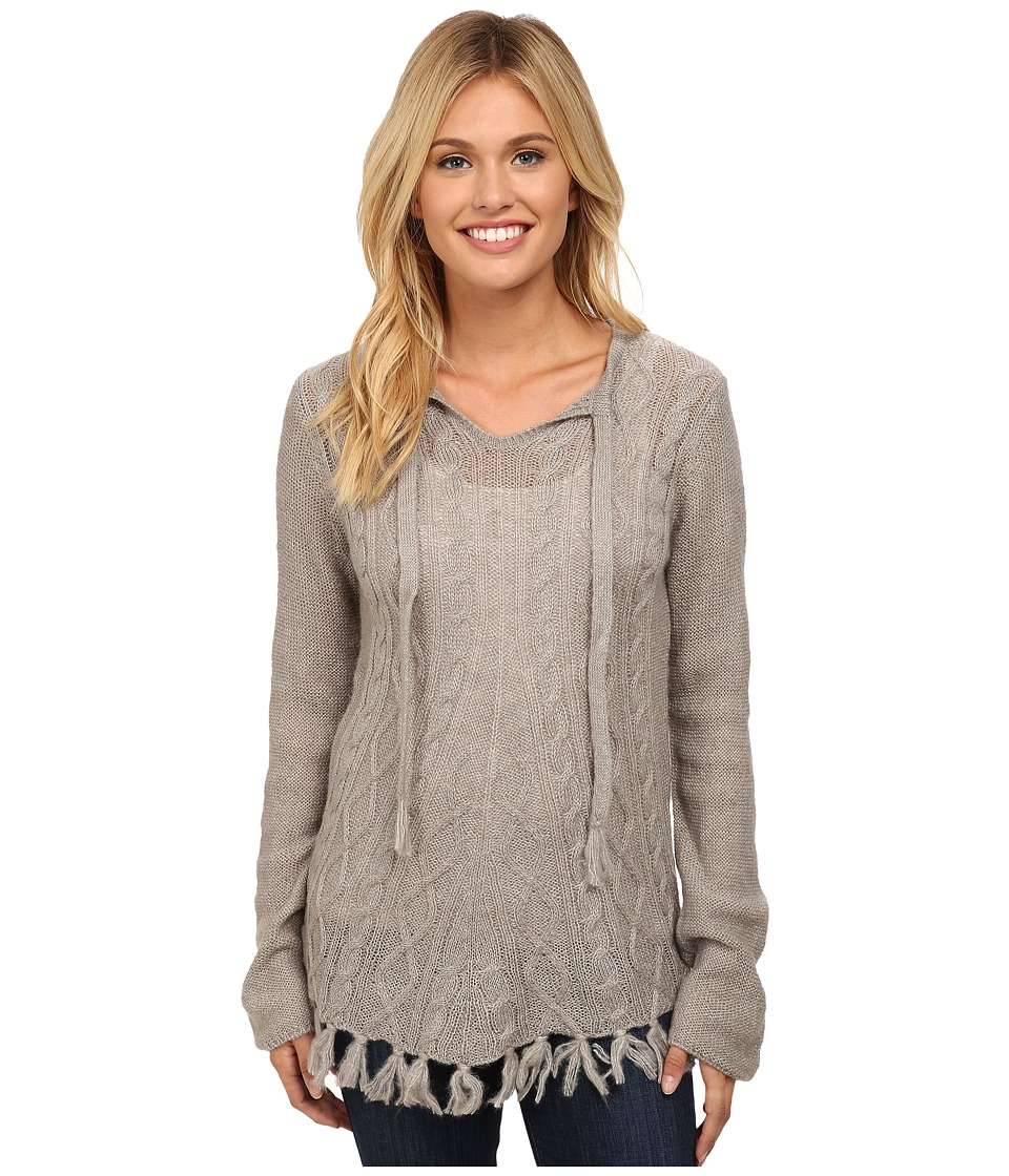 Prana - Shelby Poncho (Gull) Women's Sweater