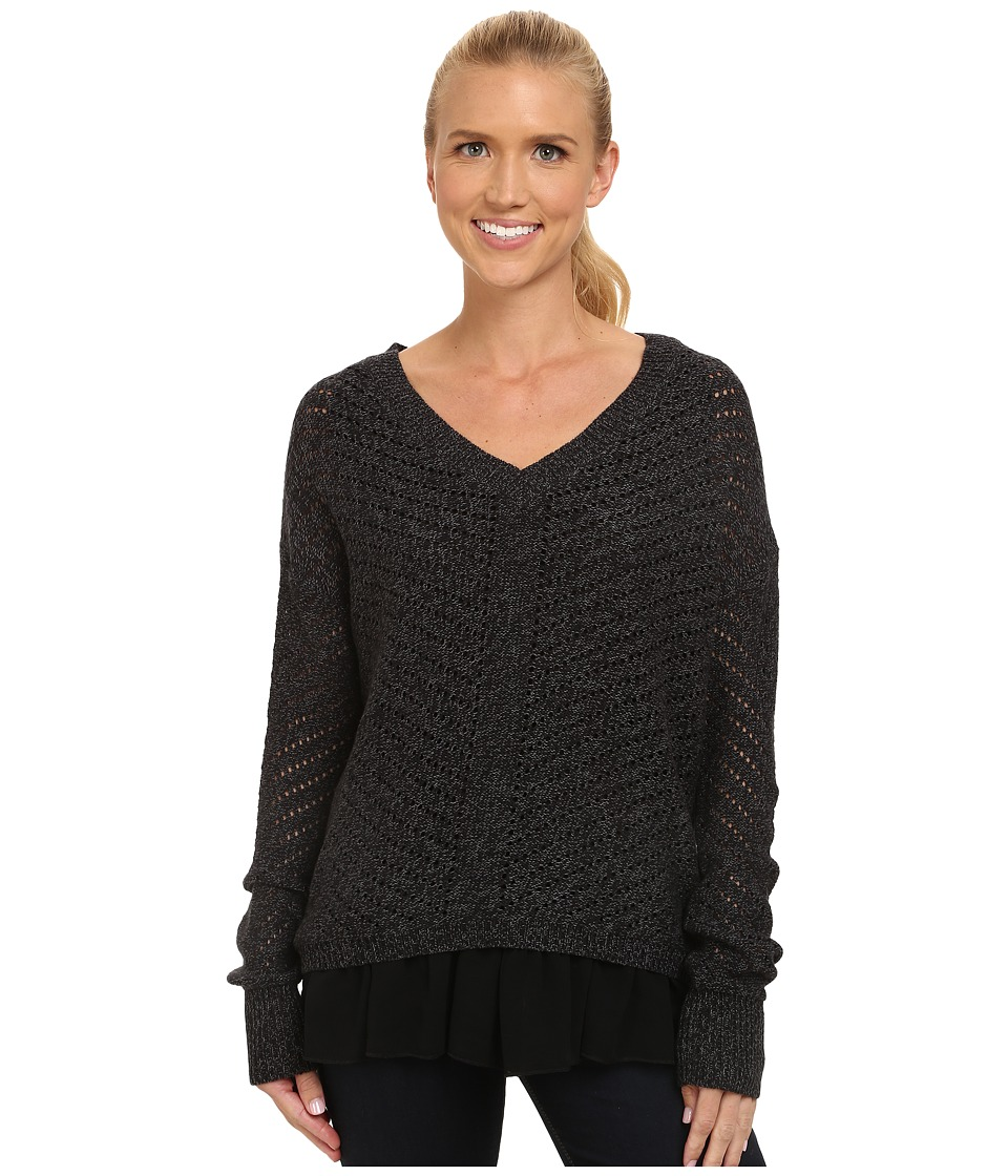 Prana - Ellery Sweater (Black) Women's Sweater