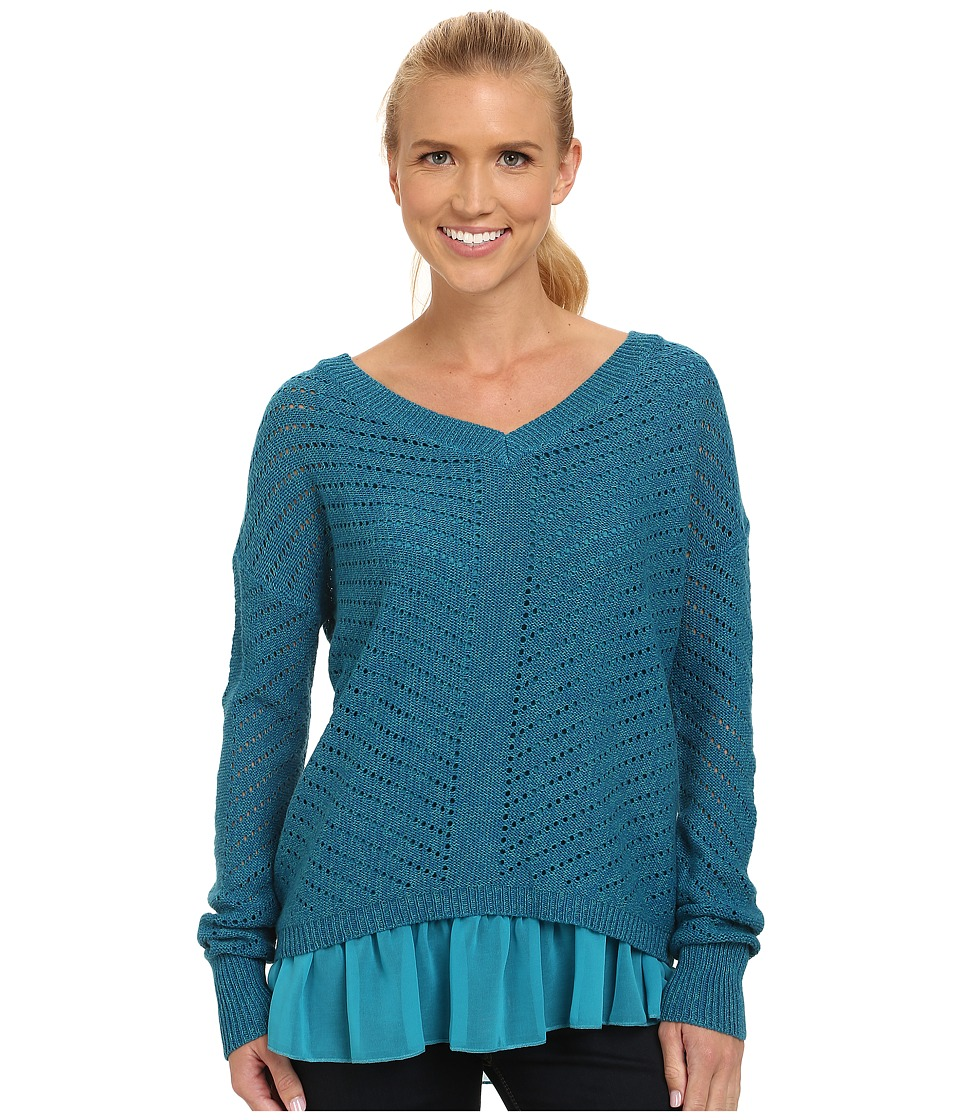 Prana - Ellery Sweater (Mosaic Blue) Women's Sweater