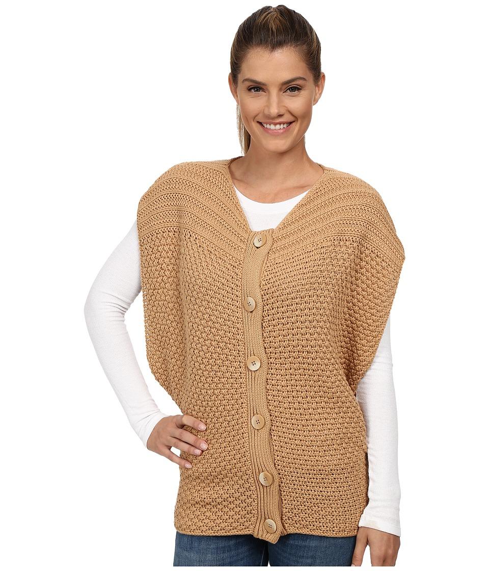 Prana - Estee Sweater Vest (Camel) Women