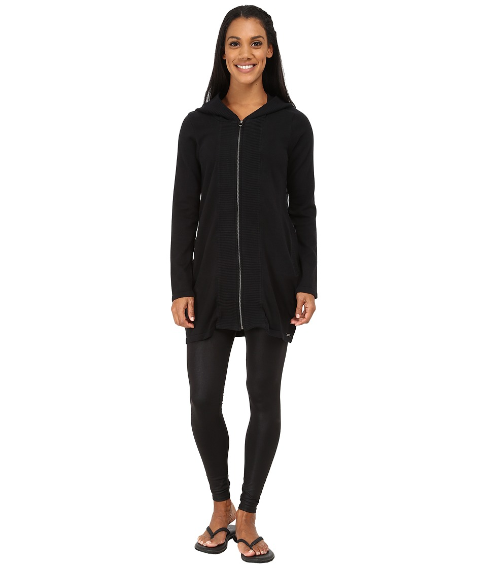 Prana - Misha Duster (Black) Women's Sweater