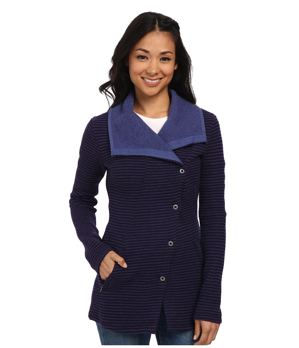 Prana - Milana Jacket (Indigo) Women's Coat