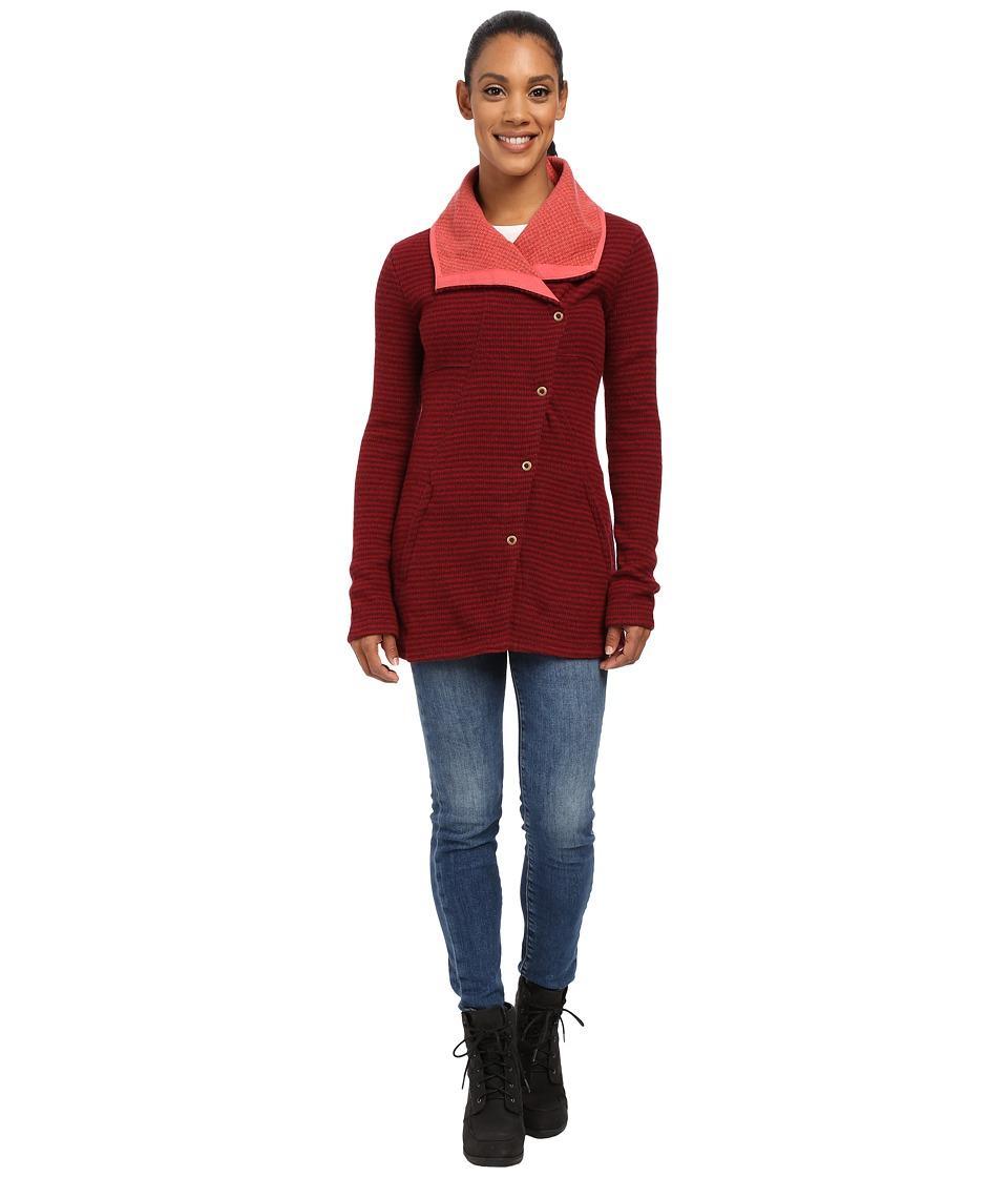 Prana - Milana Jacket (Redberry) Women's Coat