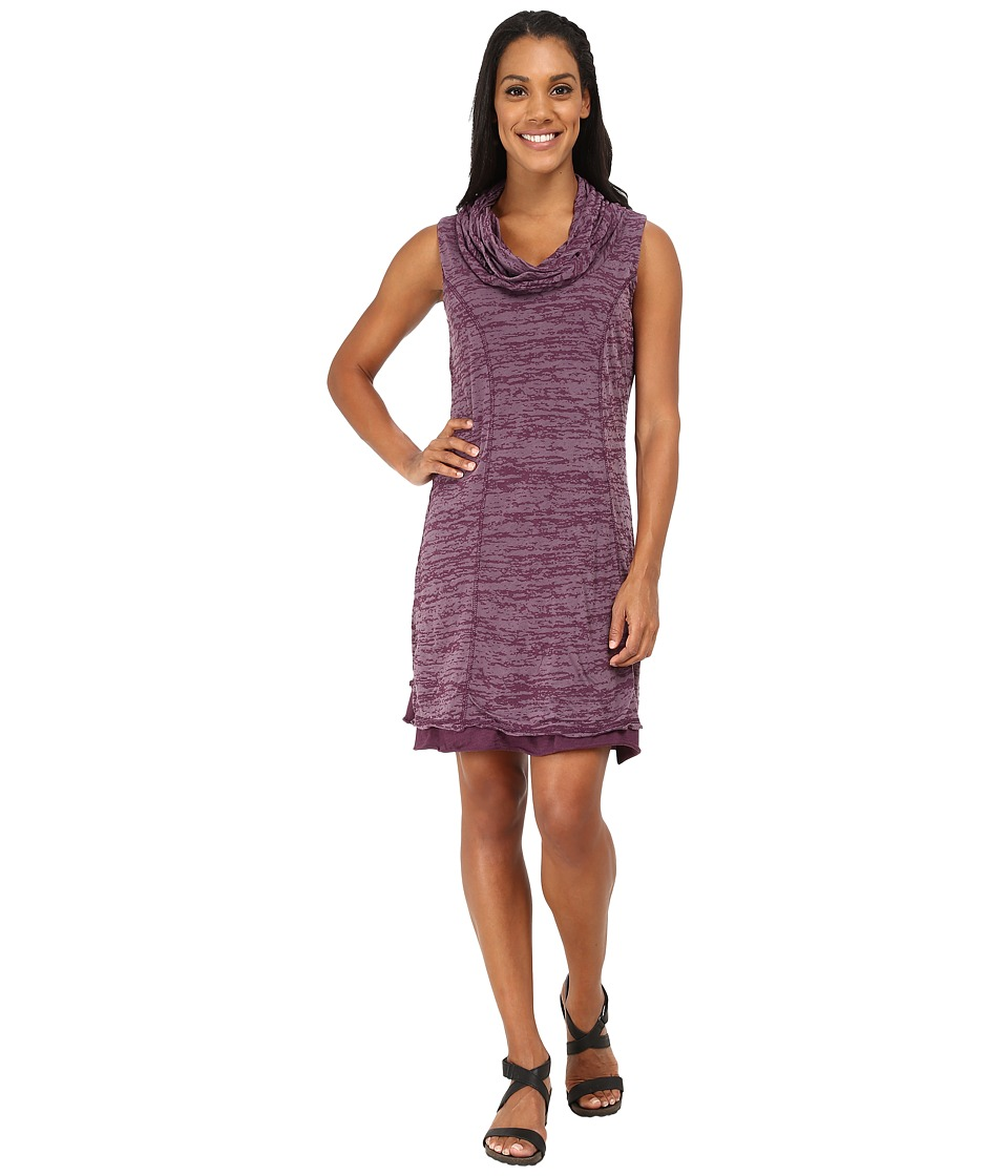 Prana - Tyda Dress (Black Plum) Women's Dress