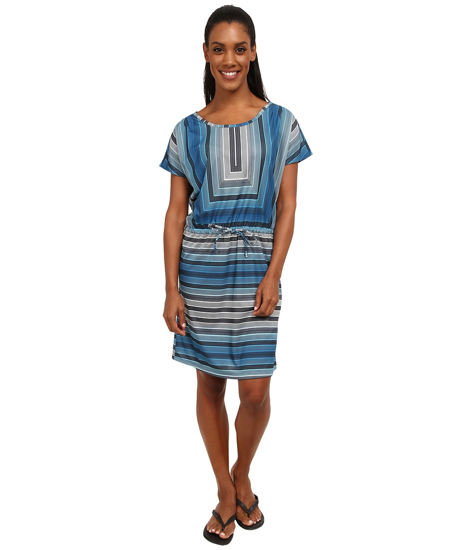 Prana - Lindy Dress (Mosaic Blue) Women's Dress