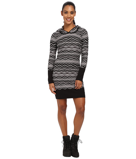 Prana - Meryl Sweater Dress (Black) Women's Dress