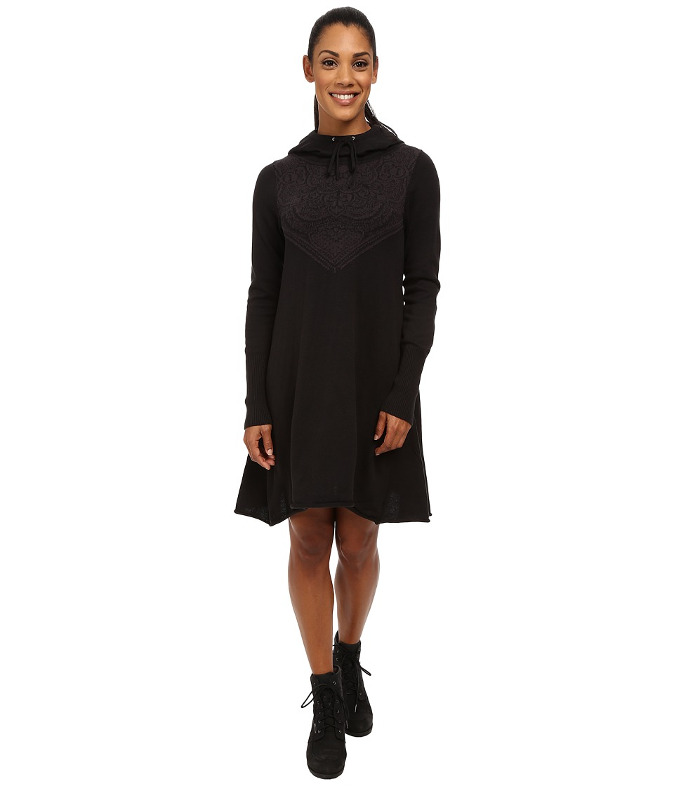 Prana Coco Dress (Black) Women