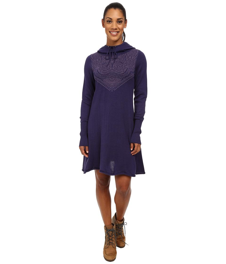 Prana - Coco Dress (Indigo) Women's Dress