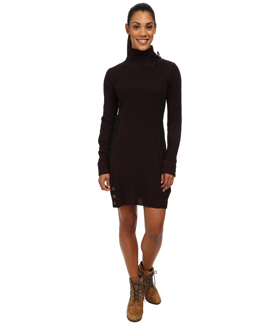 Prana - Kelland Dress (Black Plum) Women's Dress