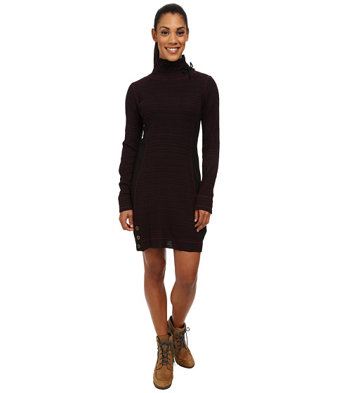 Prana - Kelland Dress (Black Plum) Women