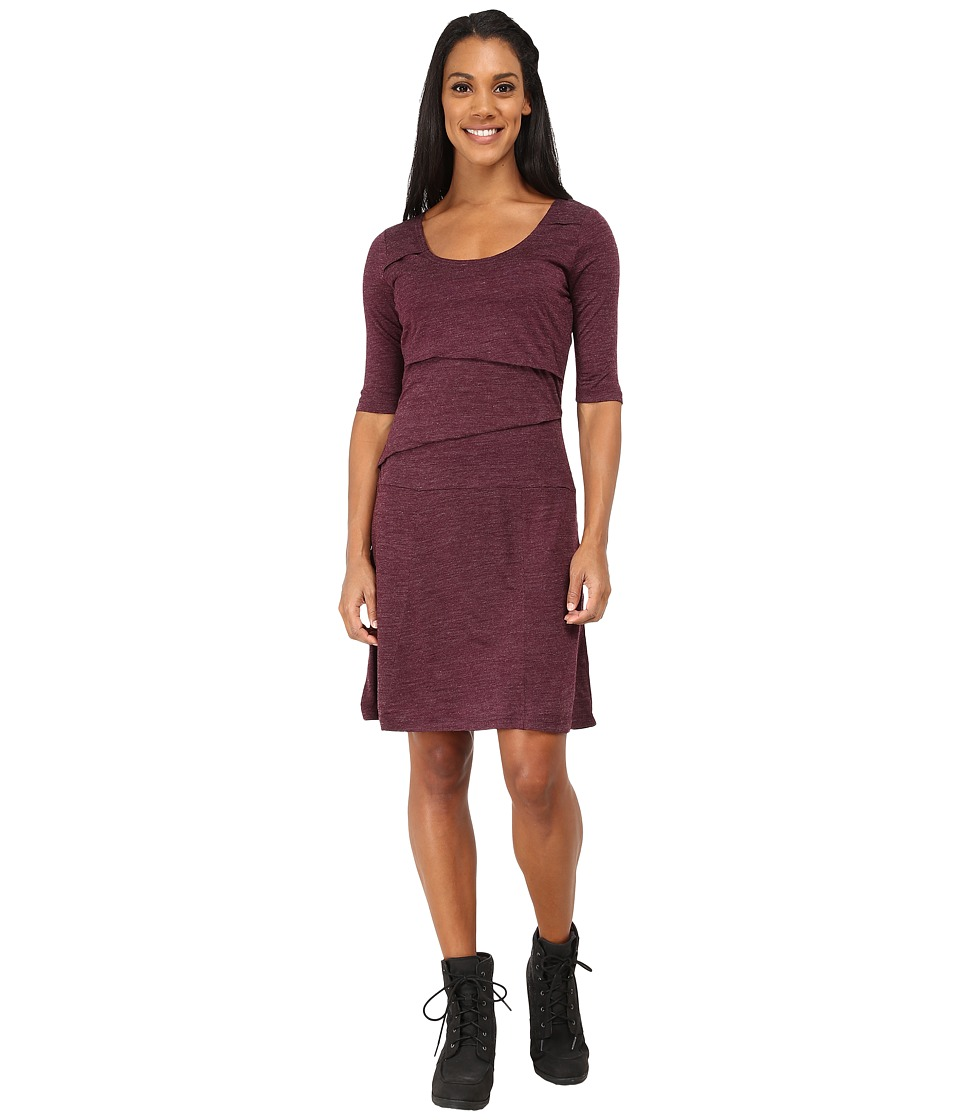 Prana - Abilene Dress (Black Plum) Women