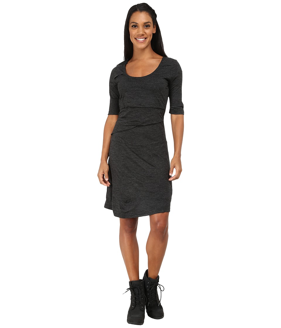 Prana - Abilene Dress (Black) Women's Dress