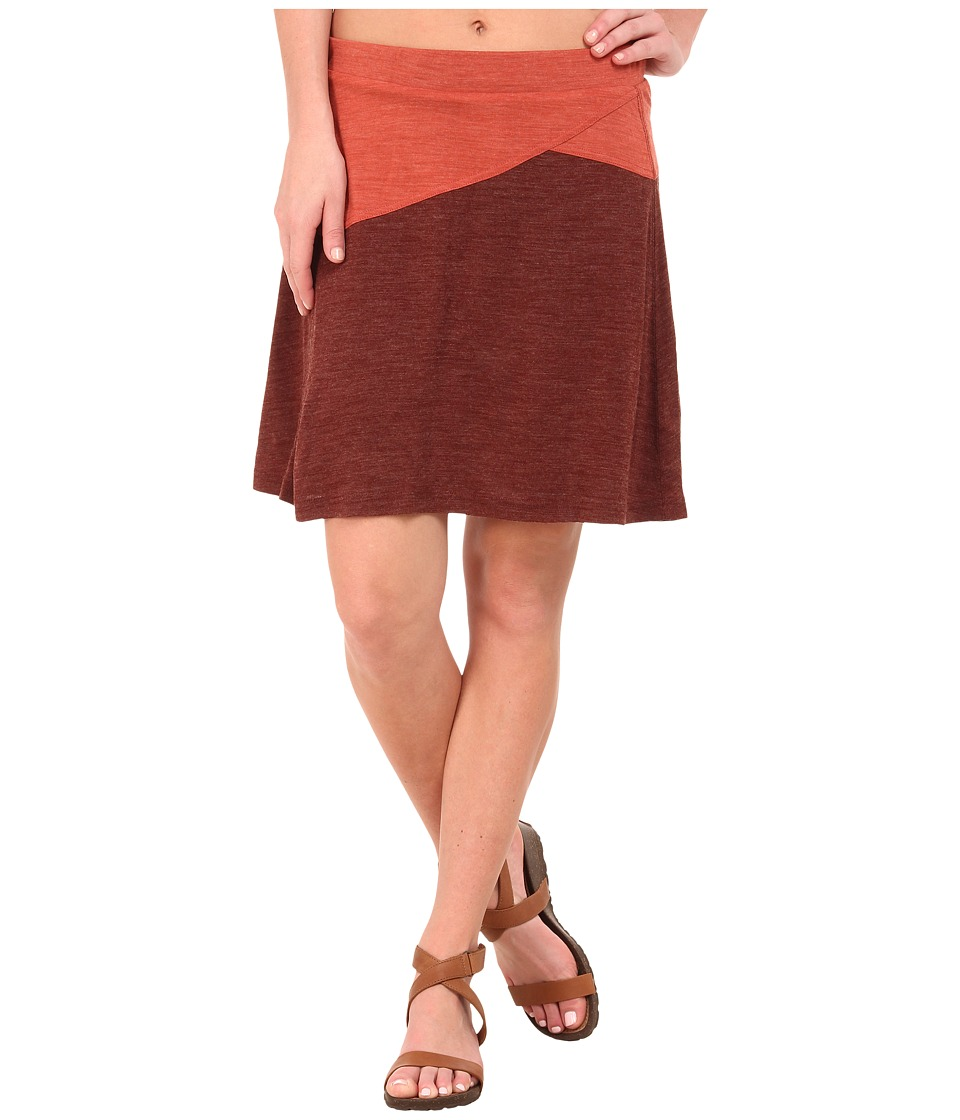 Prana - Livia Skirt (Raisin) Women's Skirt
