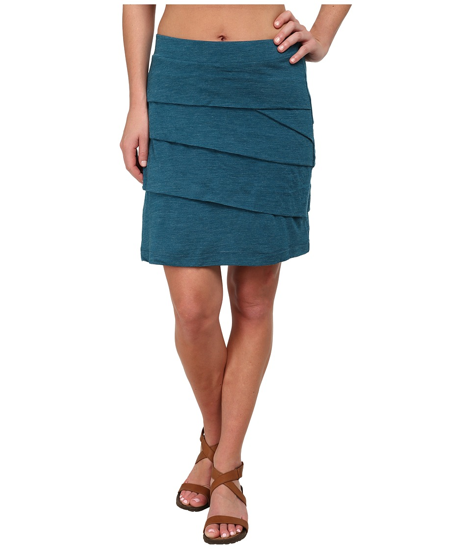 Prana - Leah Skirt (Mosaic Blue) Women's Skirt