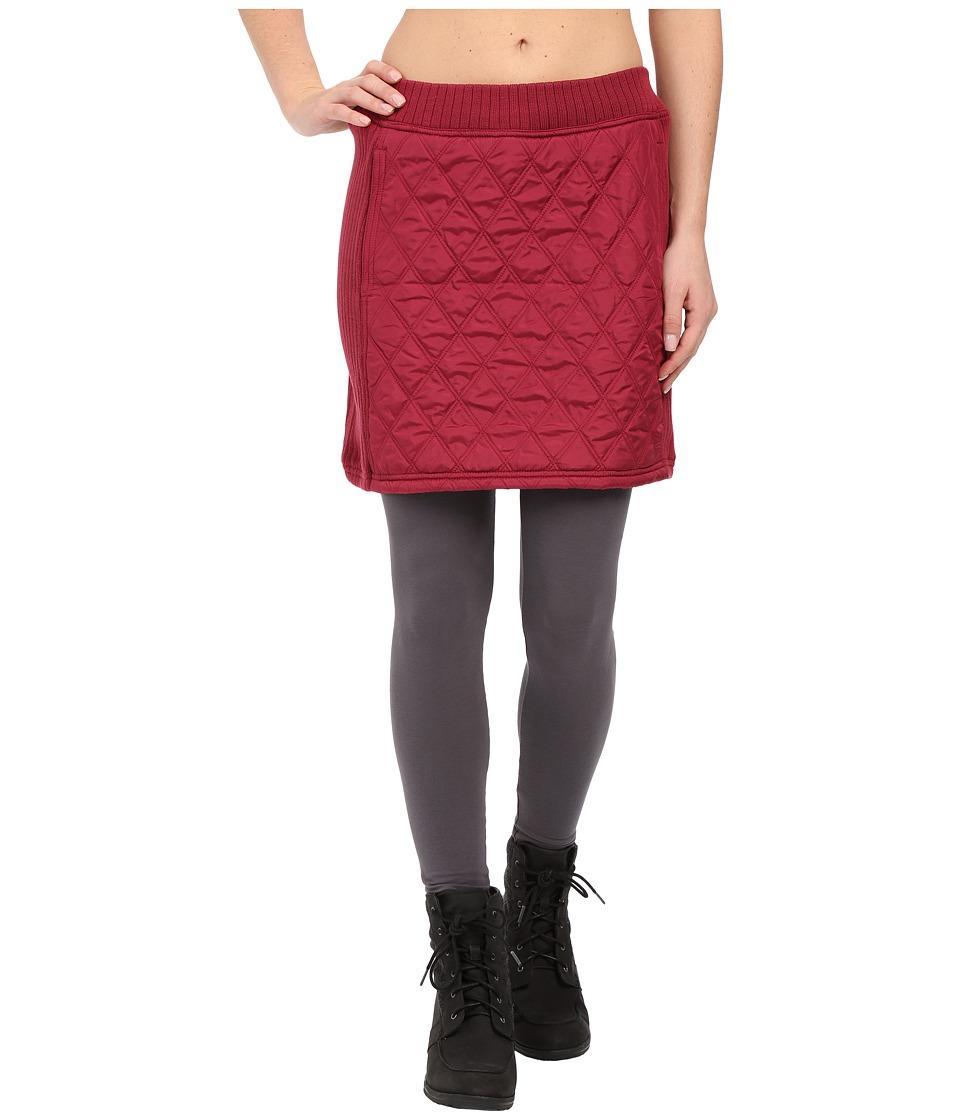 Prana - Diva Skirt (Plum Red) Women's Skirt