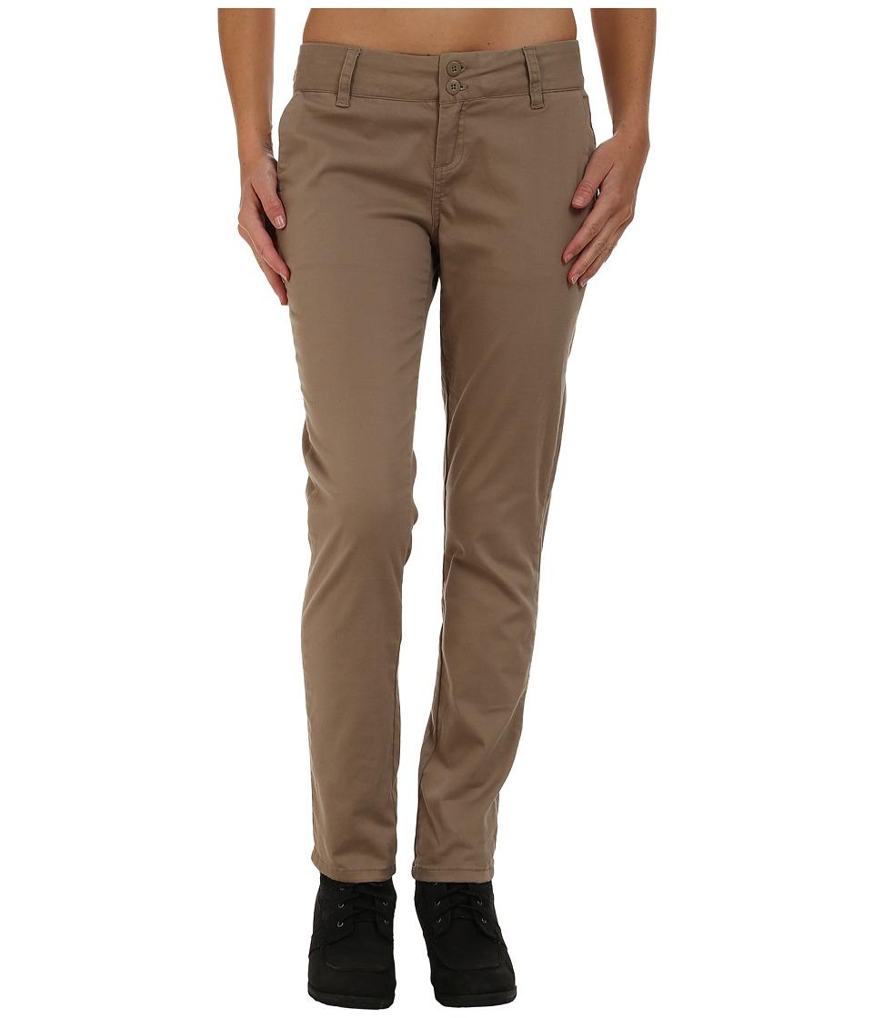 Prana - Stella Pants (Dark Khaki) Women's Casual Pants