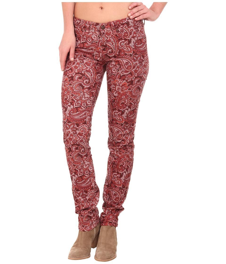 Prana - Trinity Corduroy Pants (Rhubarb Paisley) Women's Casual Pants