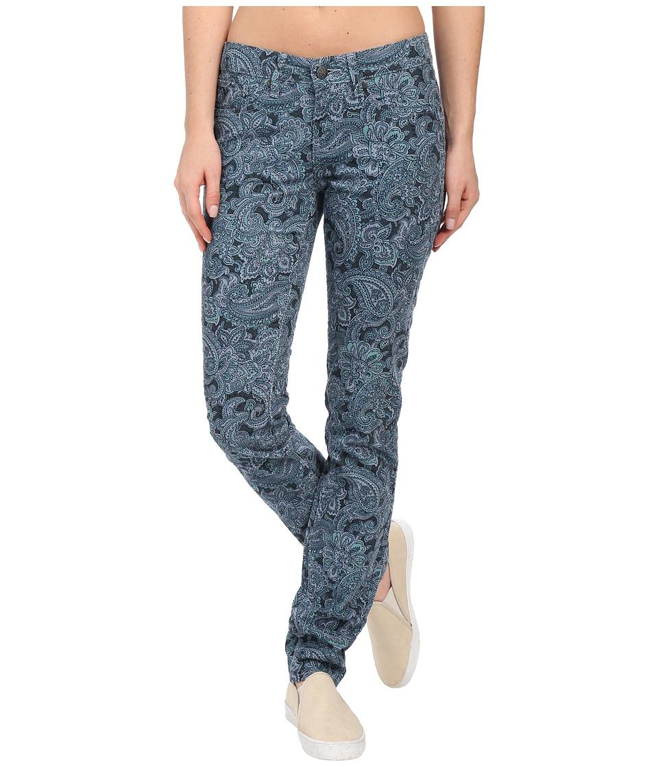 Prana - Trinity Corduroy Pants (Vintage Blue Paisley) Women's Casual Pants