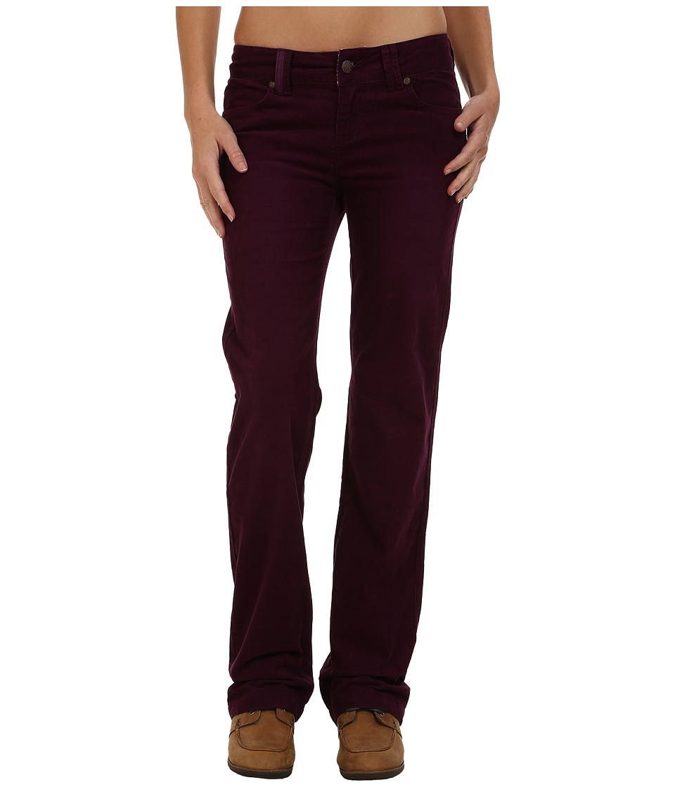Prana - Crossing Corduroy Pants (Black Plum) Women's Casual Pants