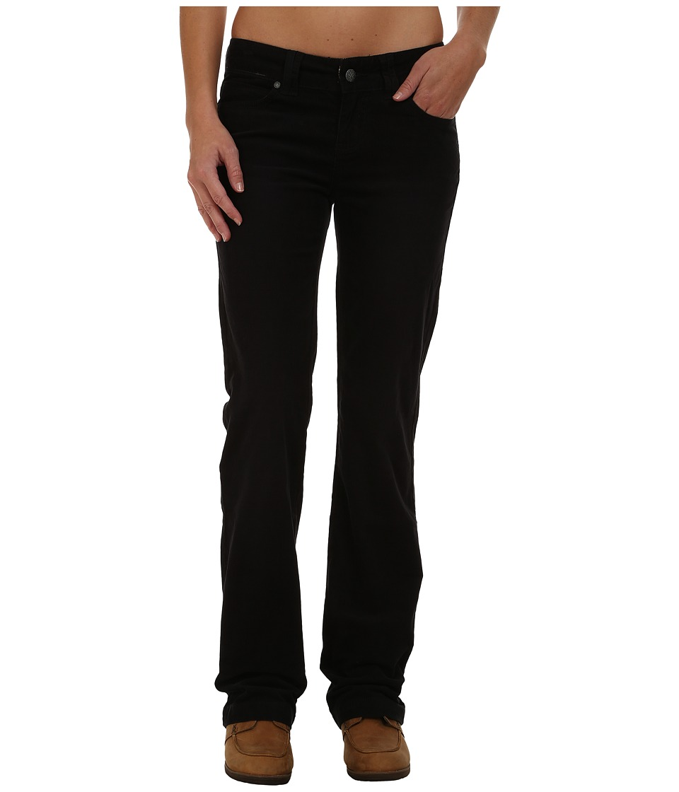 Prana - Crossing Corduroy Pants (Black) Women's Casual Pants