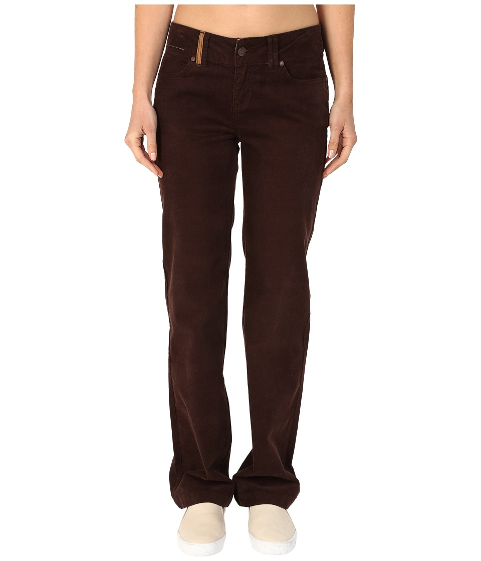 Prana - Crossing Corduroy Pants (Espresso) Women's Casual Pants