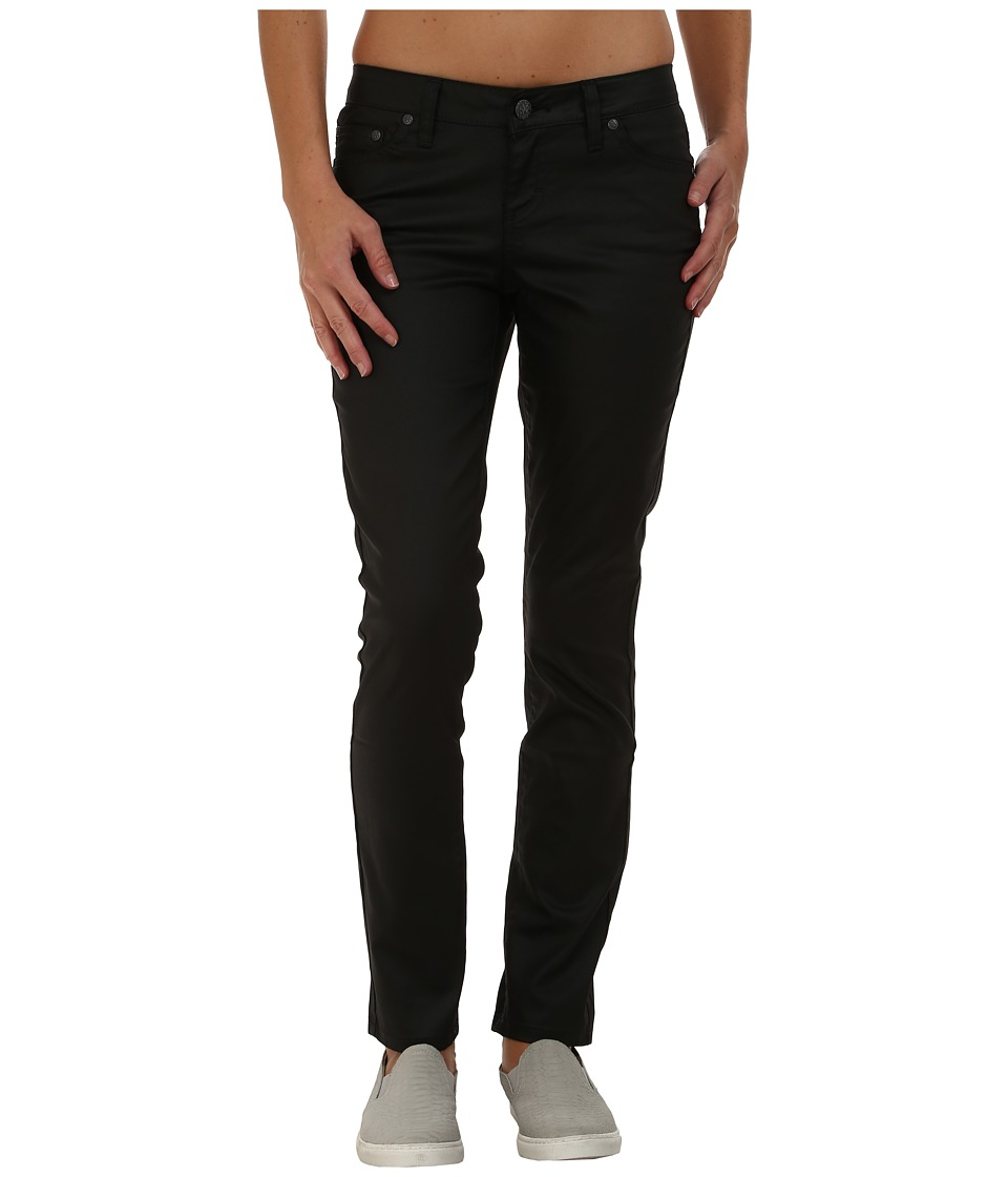 Prana - Jett Coated Pants (Black) Women's Casual Pants