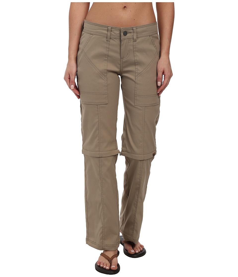 Prana - Monarch Convertible Pants (Dark Khaki) Women's Casual Pants