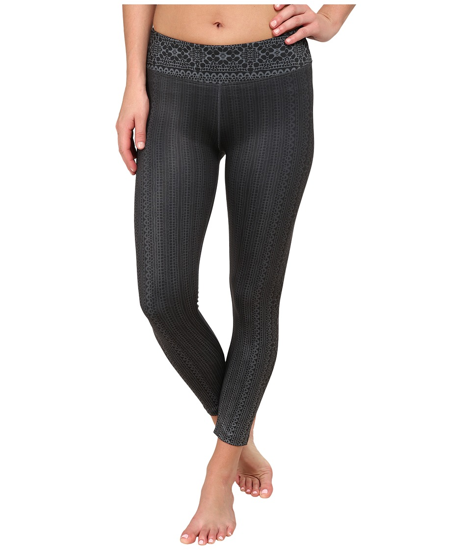 Prana - Roxanne Printed Legging (Black Limbo) Women's Casual Pants